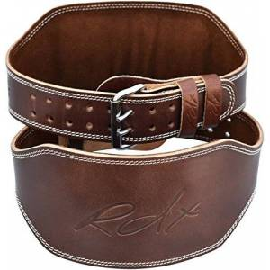 RDX WBL-6RN Cinturón de Peso, Hombre, marrón, S