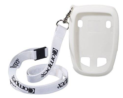 compex funda protectora lanyard wireless blanco