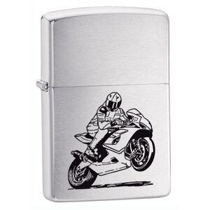 Zippo Motorcycle Lighter Brushed Cromo