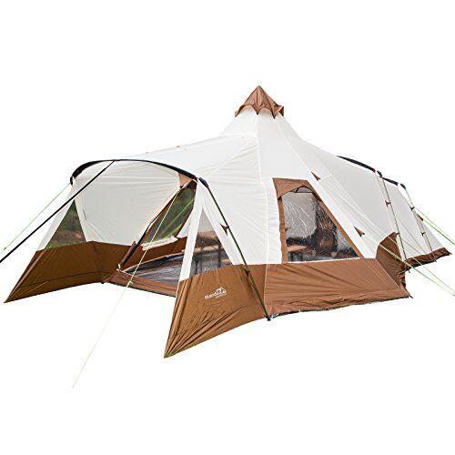 skandika navaho - tienda de campaña iglú, color beige, talla 5000 mm