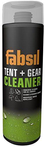 fabsil-tienda de campaña y gear limpiador unisex, negro, 500ml