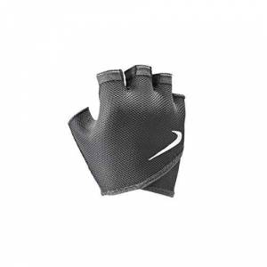 Nike 9092/59 Gym Essential Fitnes Guantes, Mujer, 010 Black/White, Small