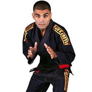 Tatami Fightwear - Estilo 6.0 BJJ - Kimono para Hombre, Hombre, BJJ Kimono, estilo6-n&gold-A3S, Azul Marino y Dorado, A3S