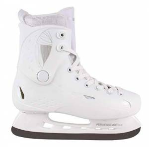 Powerslide Freezer Pure White - Patines de Hielo, Unisex Adulto, 902241, Blanco, 41-42
