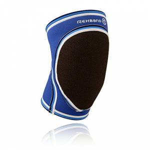 Rehband - Rodillera de Balonmano para Hombre Azul Azul Talla:Extra-Small