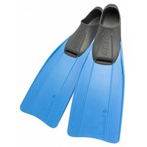 Cressi Clio Premium Aletas para Buceo, Snorkeling y Natación, Unisex, Azul, 33/34