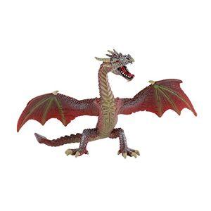 Desconocido Bullyland 75591 - Flying Dragon, Rojo-marrón [Importado de Alemania]