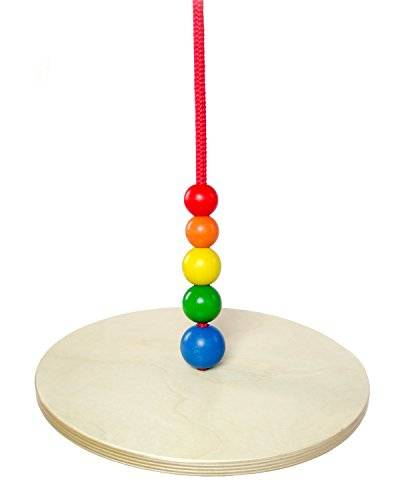 hess 31104 - juguete de madera (de 30 cm de diámetro, disco giratorio)