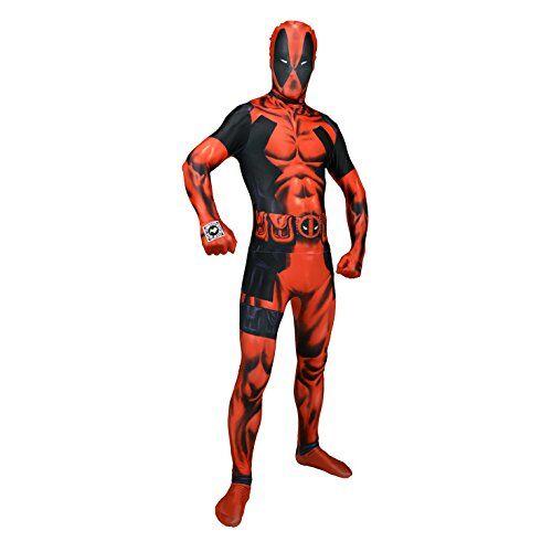 morphsuits - disfraz de segunda piel (pegado al cuerpo) adultos, talla m (mlzdpm)