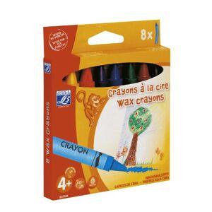 Lefranc & Bourgeois - Jumbo, pack de 8 lápices a la cera de 14 mm , color/modelo surtido