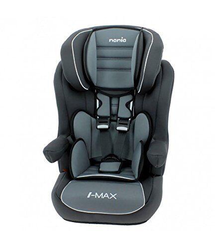 mycarsit silla de coche grupo 1/2/3 (9-36kg) - fabricación 100% francesa - 4 estrellas test tcs/adac - 4 coloridos - protecciones laterales - reposa cabeza relleno y ajustable -reposa brazos abatibles