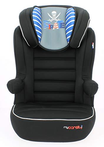 mycarsit, silla de coche grupo 2/3, pirata