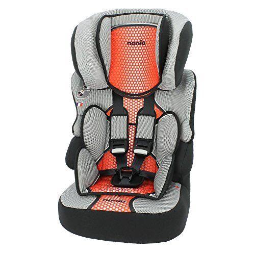 mycarsit, silla de coche y elevador, grupo 1/2/3(de 9a 36kg), color rojo