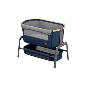 Maxi-Cosi Iora Cuna Colecho Regulable Multialturas, Reclinable con funcion de deslizamiento sencillo, Colchón incluido, Cuna bebé 0 meses - 9 kg, Essential Blue