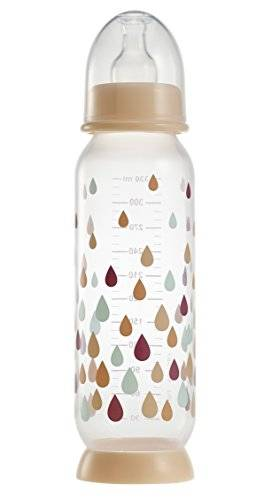 béaba biberon demi-lune rainbow nude 330 ml