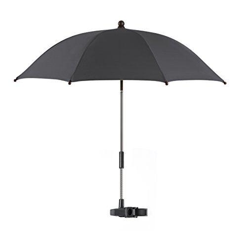 reer shinesafe alrededor negro sombrilla para silla de paseo - sombrillas para sillas de paseo (alrededor, negro, nylon, 36 mes(es), chasis de carrito de bebé, 50+)
