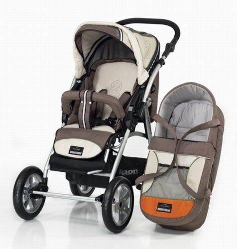 bebidoo by knorr 72586 - kit de carrito para viaje (cubierta desmontable, incluye funda para los pies, manillar ajustable, cesta)