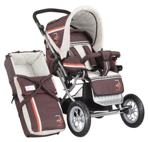 bebidoo by knorr 702824 - kit de carrito para viaje (cubierta desmontable, incluye funda para los pies, manillar ajustable, cesta)