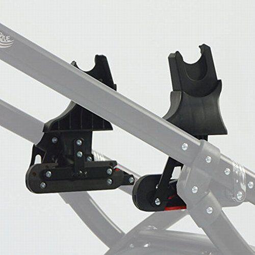 knorr-baby adaptador para sistema de deslizamiento knorr-baby 35094, para classico, voletto, noxxte, volkswagen carbon para asientos de coche maxi cosi y cybex