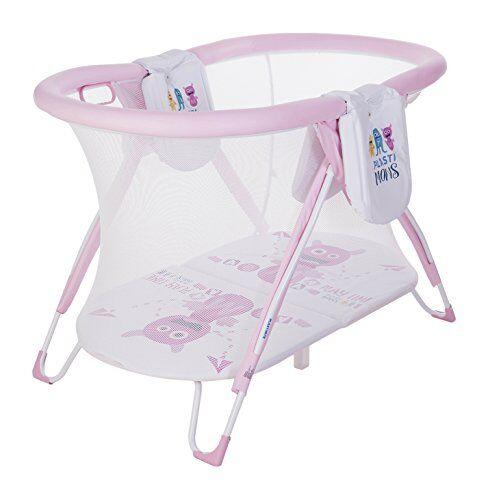 plastimyr plastimons - parque americano curvo, color rosa