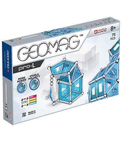 geomag pro-l construcciones magnticas y juegos educativos, multicolor, 75 piezas (23)