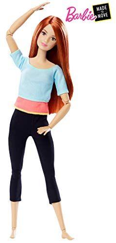 barbie- muñeca articulada fashion movimientos sin límites, color azul claro (mattel dpp74)