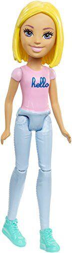 barbie on the go pink fashion doll - muñecas, femenino, chica, 4 año(s), 101,6 mm, 1 pieza(s)