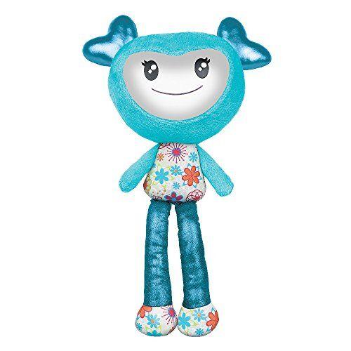 brightlings - muñeca fashion, cabeza azul turquesa