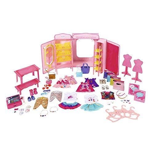 baby born 824757 - accesorios para muñecas boutique fashion shop doll, rosa (bandai 824757)