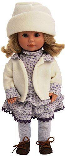 carmen gonzález - marieta, muñeca fashion, 34 cm (d'nenes diseño 022080)