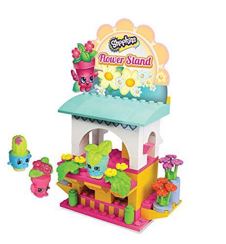 shopkins juego de construcción para niños,, 37363, diseño de puesto de flores