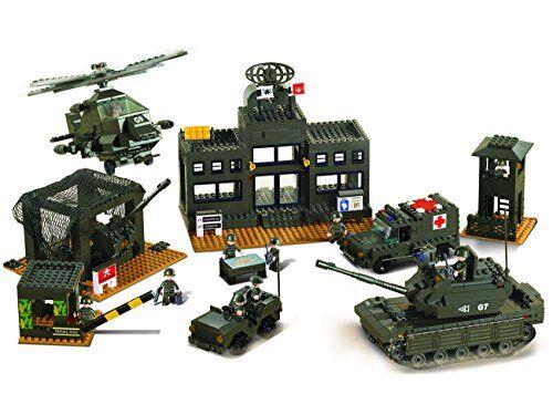 desconocido juego de construcción para niños de 1086 piezas (m38-b7100)