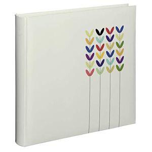 Hama Blossom Cartón Blanco álbum de Foto y Protector - lbum de fotografía (Blanco, Cartón, 80 Hojas, 10 x 15 cm, 1 Pieza(s), 300 mm)