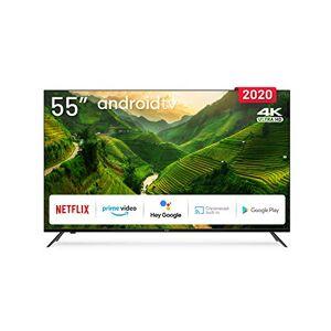 "Engel Axil TV LE5590ATV LED 55""-TDT2/SAT2/C - 4k UHD -ANDROIDTV 9.0 + Google ASIST+ CHROMECAST"