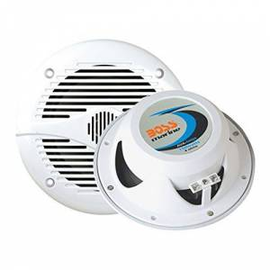Boss Audio Systems 153-MR50W Altavoces 2 Vías, 133 mm, Color Blanco
