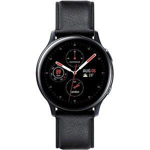 Samsung Galaxy Watch Active 2 - Smartwatch de Acero, 40mm, color Negro, Bluetooth [Versión española]