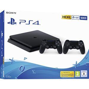 Sony Playstation 4 (PS4) - Consola 500 Gb + 2 Mandos Dual Shock 4 (Edición Exclusiva Amazon)