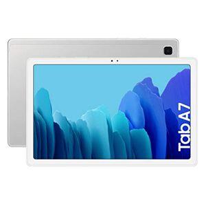 """Samsung Galaxy Tab A 7   Tablet de 10.4"""" FullHD (4G, Procesador Octa-core Qualcomm Snapdragon 662, RAM de 3GB, Almacenamiento de 32GB, Android actualizable) - Color Plata [Versión española]"""