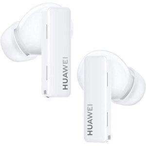 Huawei FreeBuds Pro Blanco - Auriculares inalámbricos Bluetooth con cancelación Inteligente de Ruido, Sistema de 3 micrófonos, Carga inalámbrica rápida, Pequeño