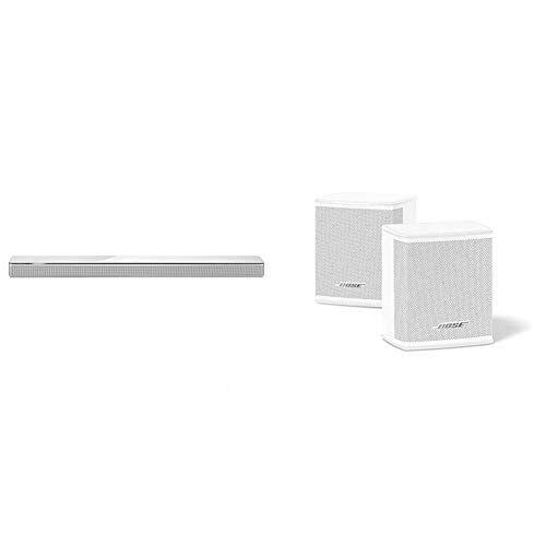 bose - barra de sonido 700, blanco +  surround speakers, blanco