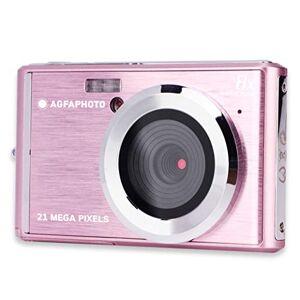 AgfaPhoto AGFA Photo DC5200 - Cámara de Fotos Digital compacta, Color Rosa
