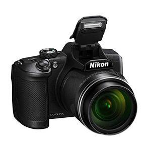 Nikon Coolpix B600 - Cámara Bridge de 16 megapíxeles, Zoom 60X, Full HD, Sensor CMOS en Condiciones de Poca iluminación, Bluetooth, Wi-Fi, Color Negro