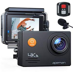 APEMAN cámara de acción 4K WiFi 16MP Impermeable cámara Deportiva submarina 40M