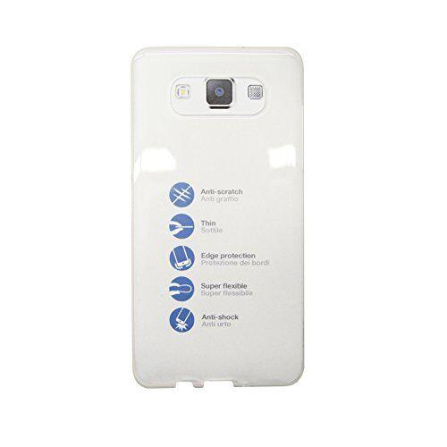 aiino funda/carcasa celular móvil gumshell para smartphone samsung galaxy a5 - trasparente