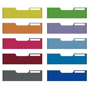 Exacompta Maxi Gama A4 - Modulo con 10 frontales, multicolor