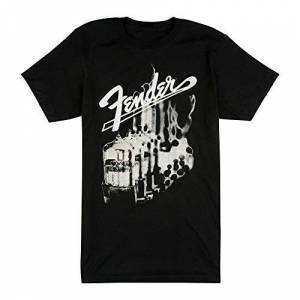 Fender Tubes Camiseta Negra XL