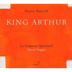 Auvity; Cyril Bayodi; Hanna Cornwell; Joseph Gens; Veronique Harvey; Peter Jarrige; Beatrice Le Concert Spirituel Niquet; Herve Purcell : King Arthur ; Niquet