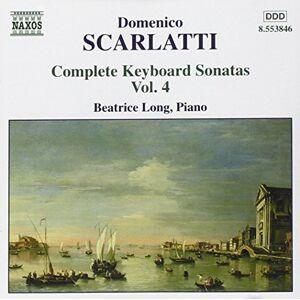 Beatrice Long Intégrale des Sonates pour clavier, Vol.4