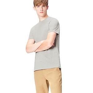 find. Marca Amazon - find. Camiseta Mensaje para Hombre, Gris (Grey Marl 003), XXL, Label: XXL