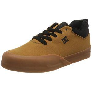 DC Shoes Infinite, Zapato de Skate para Niños, Black/Wheat, 32 EU